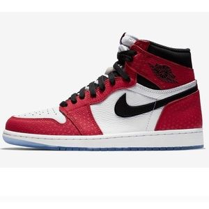Air Jordan retro 1 high SpiderMan OG origin story